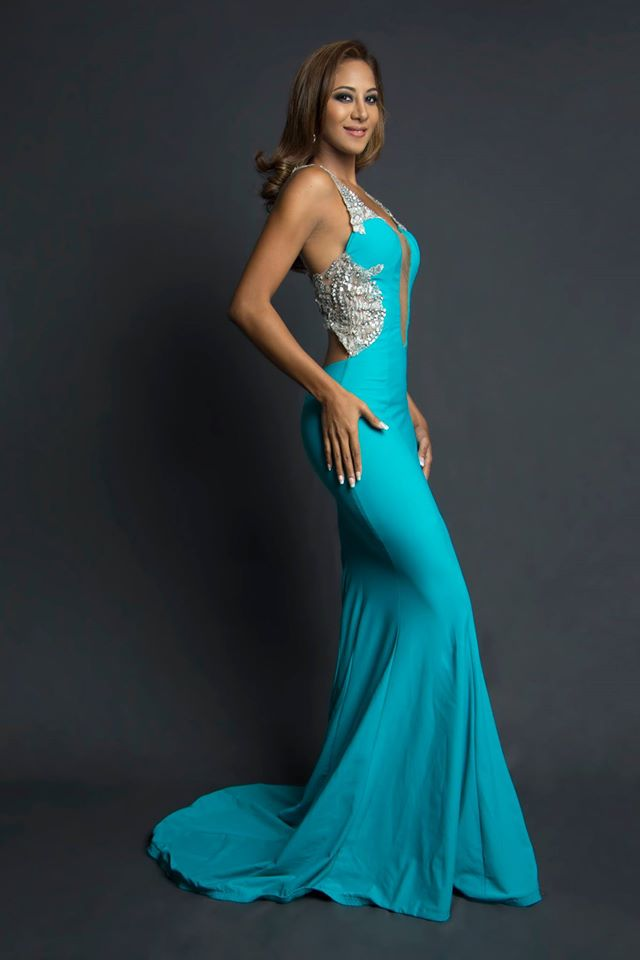 Karen Guerrero during Miss Ecuador 2016 Evening Gown Portraits
