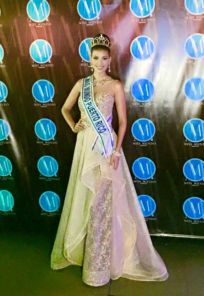 Miss Mundo de Puerto Rico 2016 winner will represent Puerto Rico at Miss World 2016