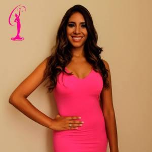 Kiara Barrantes is a contestant of Miss Peru 2016