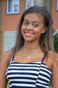 Kimberley Anacoura is a contestant of Miss Seychelles Another World 2016