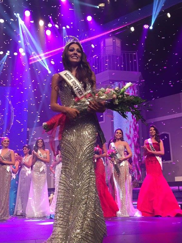 Miss Universe Puerto Rico 2016-Kristhielee Caride dethroned