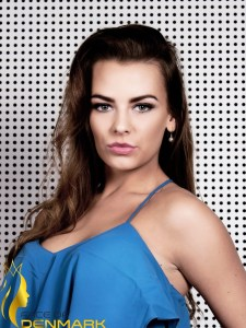 Miss Universe Esbjerg-Nanna Vestergaard is a contestant of Face of Denmark 2016