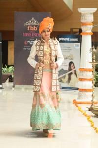 Priyanka Singh in National Costume