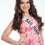 San Juan is a contestant of Miss Mundo de Puerto Rico 2016