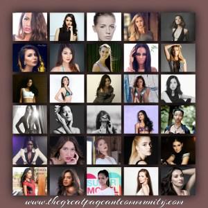 Supermodel International 2016 contestants