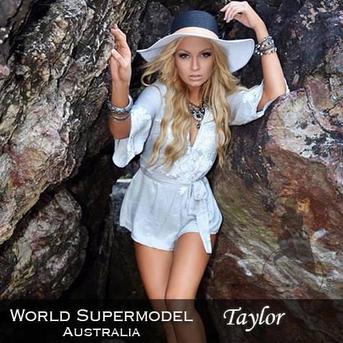 World Supermodel Australia - Taylor is a contestant at World Supermodel 2016