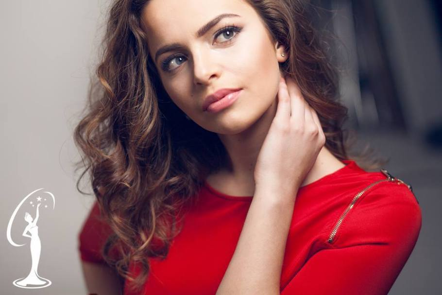 Brixhilda Maka is a contestant of Miss Universe Albania 2016