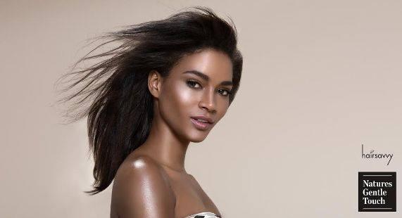 Leila Lopes looks breathtaking in 'Hairsavvy' Photoshoot