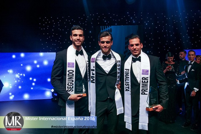 Daniel Rodriguez is Mister International Spain 2016