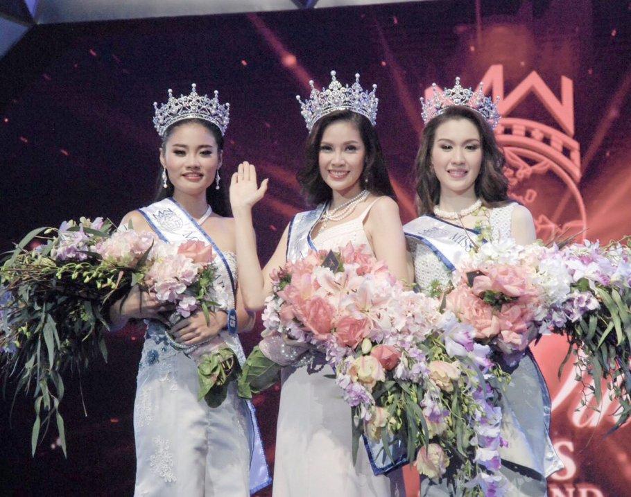 Jinnita Buddee is Miss Thailand World 2016