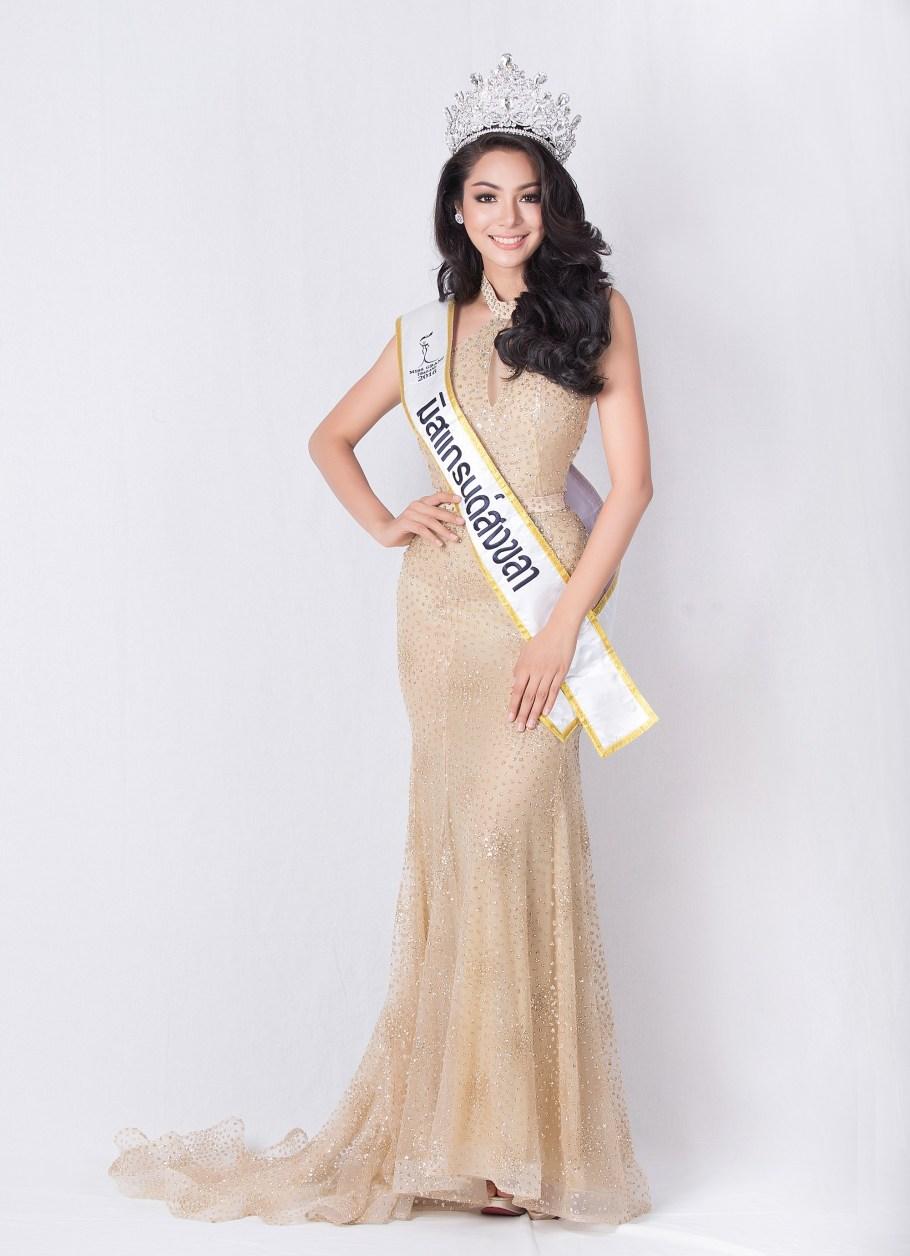 Faiic Supaporn Malisorn won Miss Grand Thailand 2016 and will represent Thailand at Miss Grand International 2016