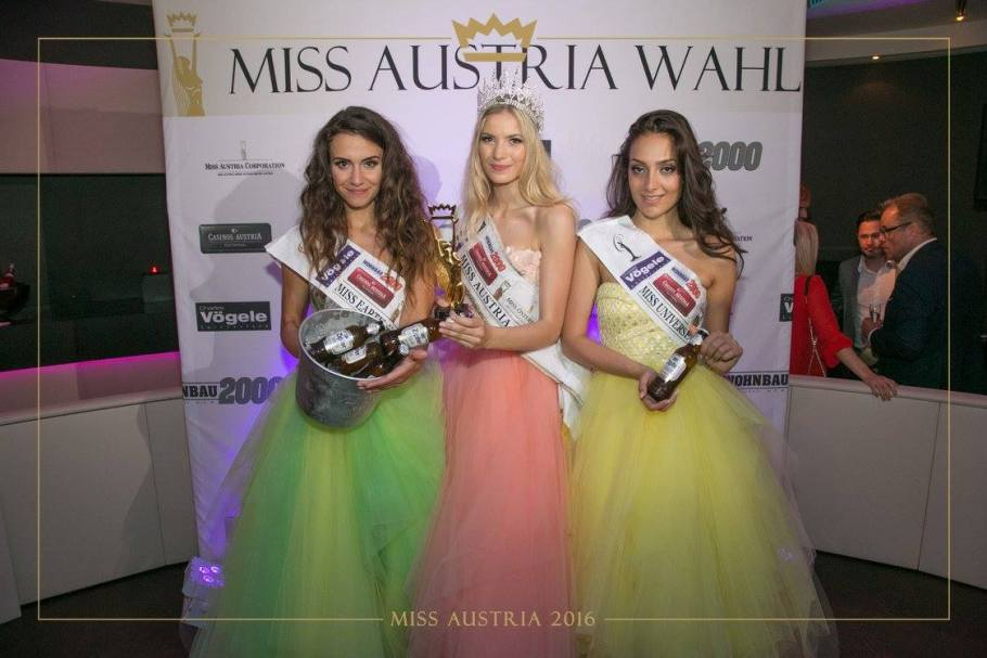 Dragana Stankovic won Miss Austria 2016 she will represent Austria at Miss World 2016 pageant