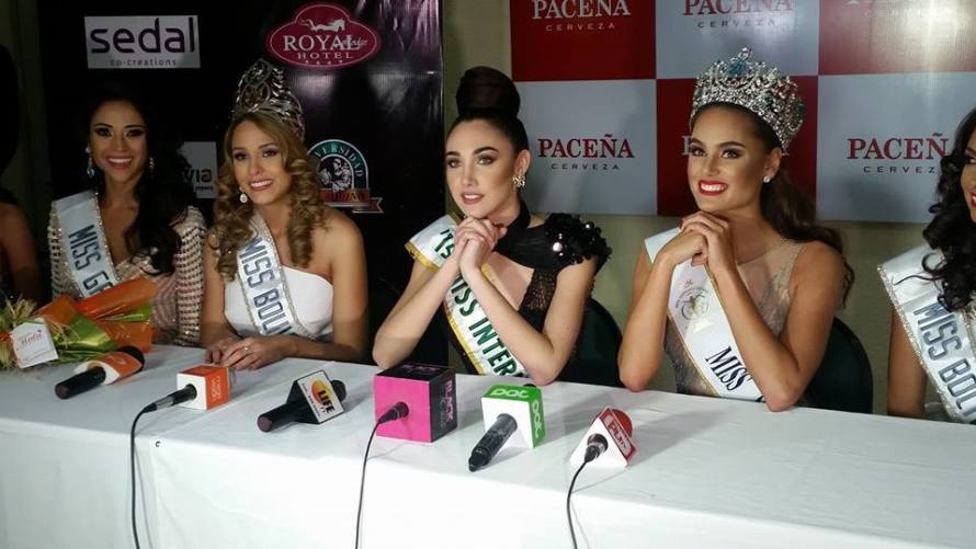 Antonella Moscatelli won Miss Bolivia 2016 & will represent Bolivia at Miss Universe 2016 pageant