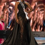 Maaliayh Papillion, Miss Louisiana USA competes during the evening gown competition at Miss USA 2016 preliminary show