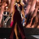 Jessica Strohm, Miss New Hampshire USA competes during the evening gown competition at Miss USA 2016 preliminary show