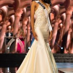 Natriana Shorter, Miss Oregon USA competes during the evening gown competition at Miss USA 2016 preliminary show