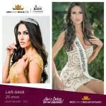 Lais Gava is representing CERRADO GOIANO - GO at Miss Mundo Brasil 2016