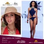 Ana Carolline Torres is representing DISTRITO FEDERAL at Miss Mundo Brasil 2016