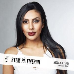 Emeriin Jeolina Jorseph is one of the Miss Norway 2016 Contestants