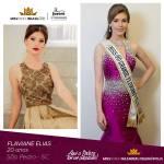 Flaviane Elias is representing GRANDE FLORIANÓPOLIS - SC at Miss Mundo Brasil 2016