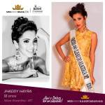 Jhaddy Hayra is representing ilhas do ARAGUAIA - MT at Miss Mundo Brasil 2016