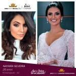 Nayara Silveira is representing JURERÊ INTERNACIONAL - SC at Miss Mundo Brasil 2016