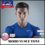 Mohd Yusuf Mr Malaysia, will represent Malaysia at Mr World 2016
