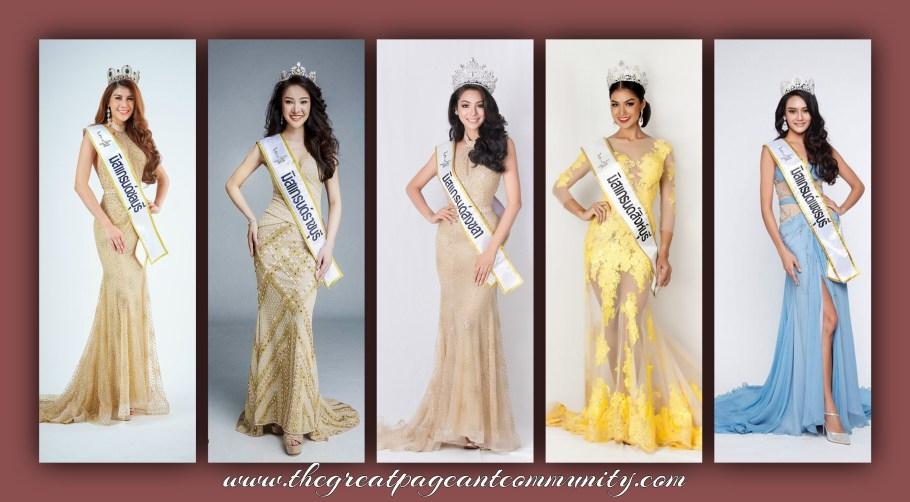 Miss Grand Thailand 2016 winners
