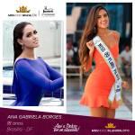 Ana Gabriela Borges is representing PLANO PILOTO - DF at Miss Mundo Brasil 2016