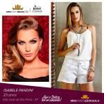 Isabele Pandini is representing SÃO PAULO at Miss Mundo Brasil 2016
