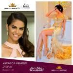 Katiúsca Menezes is representing SERGIPE at Miss Mundo Brasil 2016