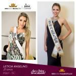 Leticia Angelino is representing VALE DO ITAJAÍ - SC at Miss Mundo Brasil 2016