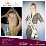 VALE EUROPEU - SC is representing VALE EUROPEU - SC at Miss Mundo Brasil 2016