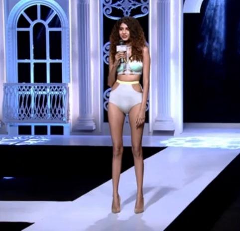 Neelam Virwani in India's Next Top Model Season 2 Bikini Pictures