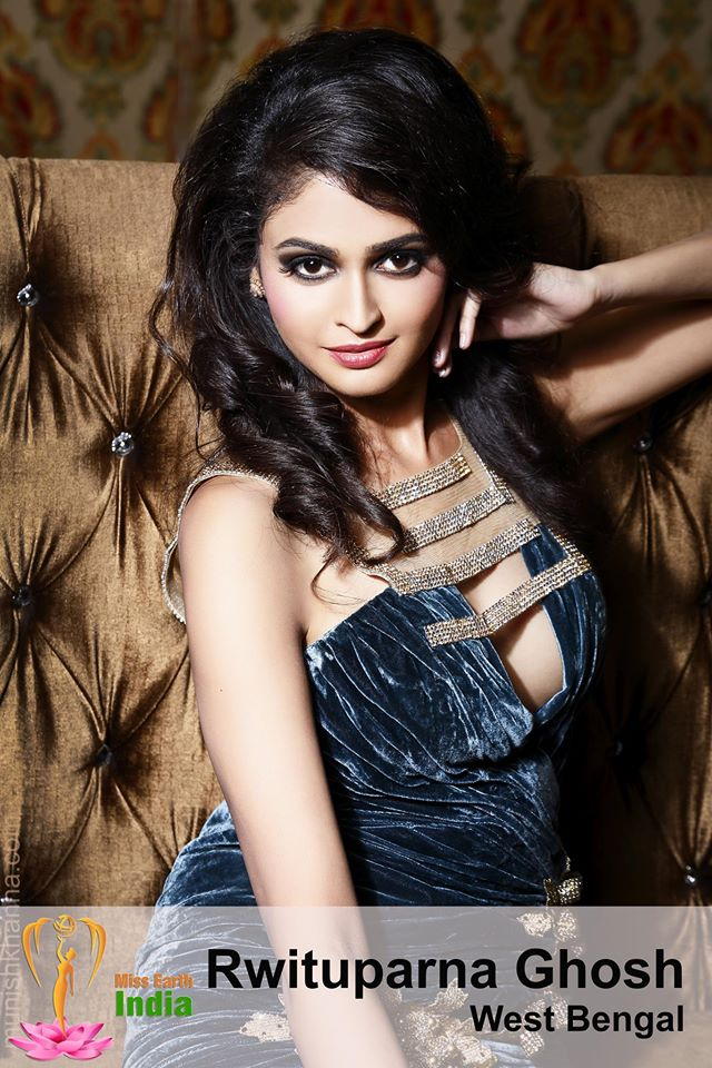 Rwituparna Ghosh during Miss Earth India 2016 Official Photo shoot