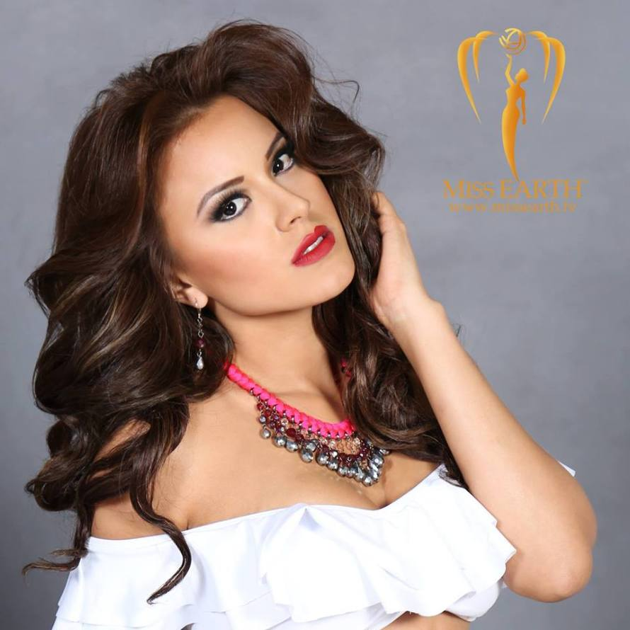 Katherine Espin has been chosen as Miss Earth Ecuador 2016