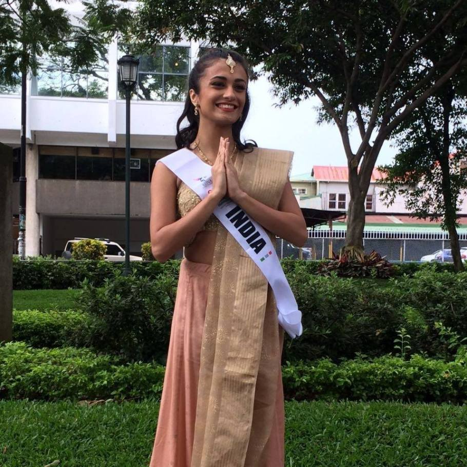 Pia Sutaria of India wins Reina Petite Intercontinental 2016