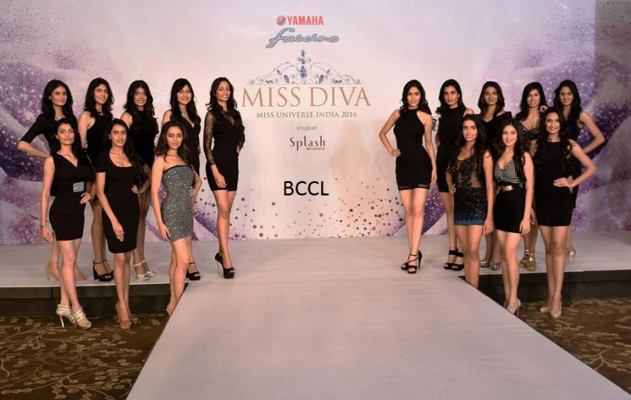Miss Diva 2016 contestants