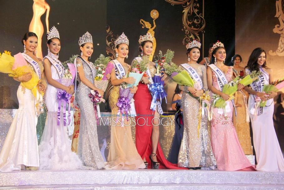 Miss Golden Land Myanmar 2016 winners