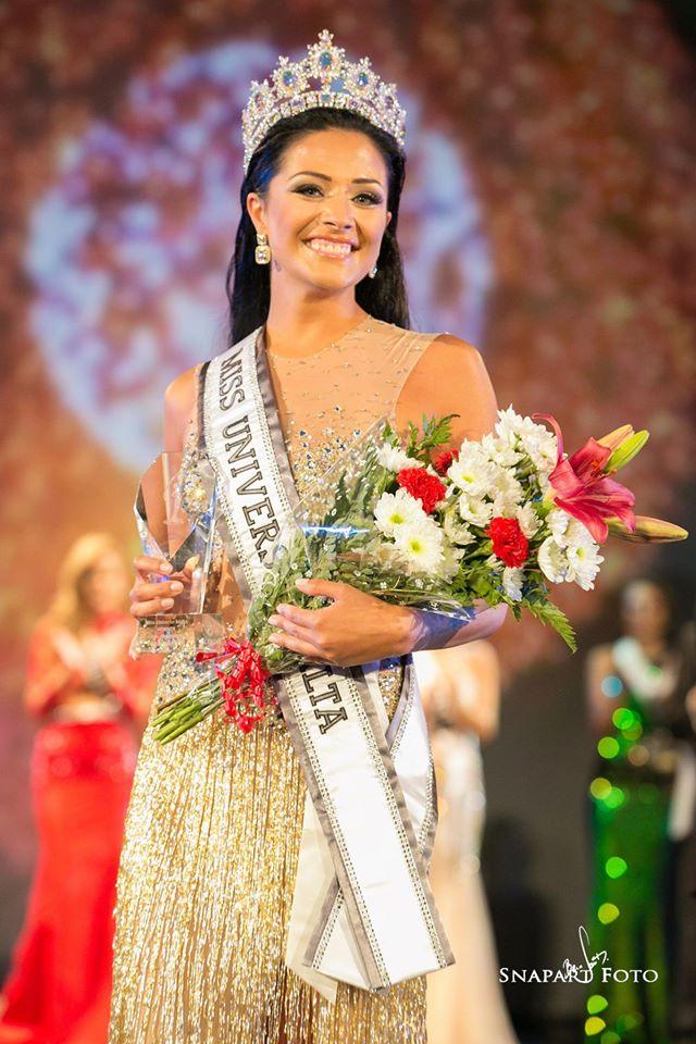 Martha Fenech won Miss Universe Malta 2016 she will represent Malta at Miss Universe 2016