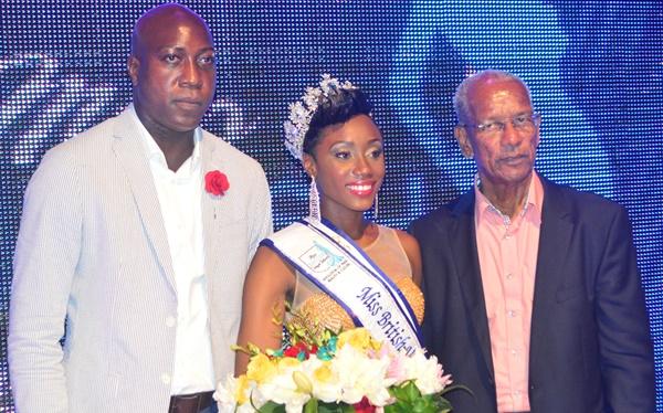 Erika Creque is Miss British Virgin Islands 2016