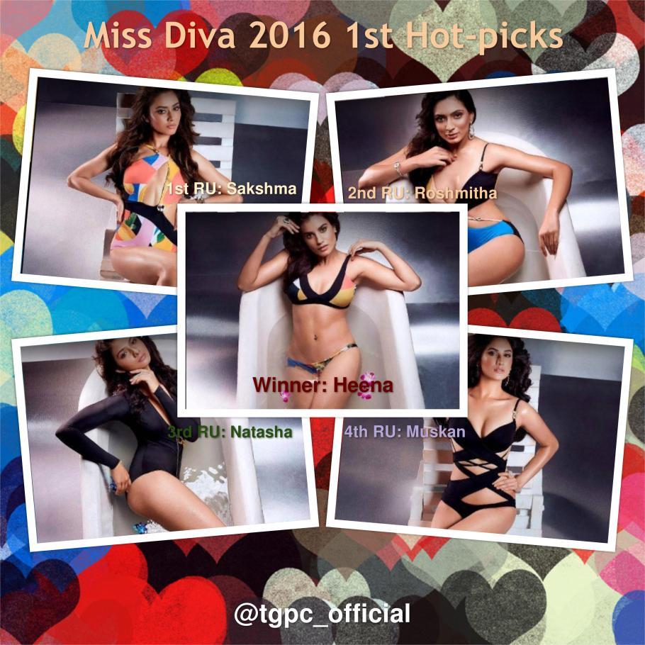 Miss Diva 2016 1st Official Hotpicks