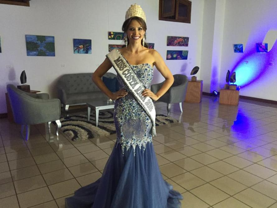 Carolina Rodriguez Castro crowned Miss Costa Rica