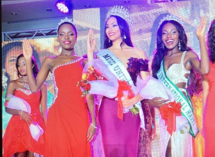 Raquel Pelissier crowned Miss Universe Haiti 2016