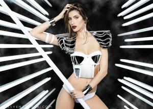 Miss Cojedes-Sarahim Sariht Dávila Hernández during Miss Venezuela 2016 Mid Length Photo Shoot
