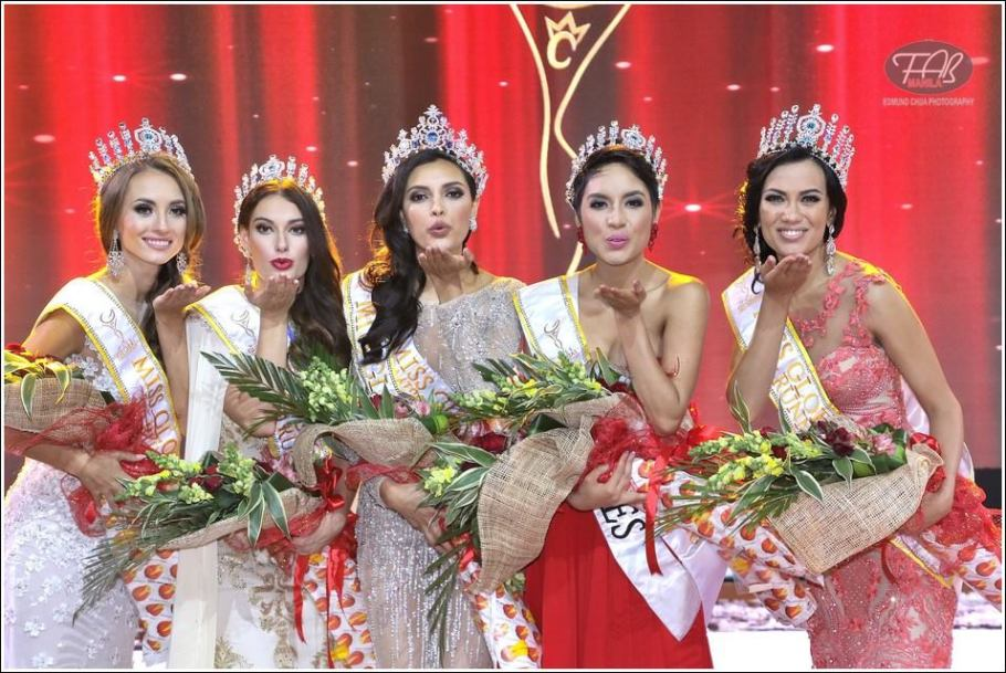 Angela Bonilla from Ecuador wins Miss Global 2016