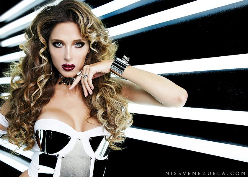 Miss Miranda-Rosangélica Piscitelli Ferreri during Miss Venezuela 2016 Glam Shots