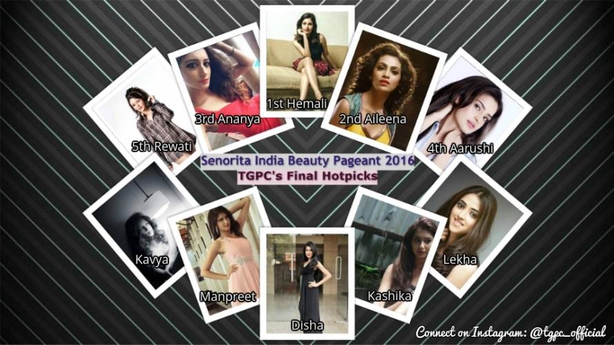 Senorita India 2016