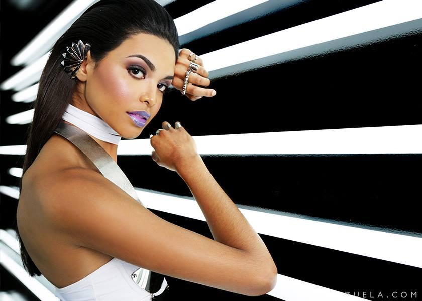 Miss Táchira-Betania Rojas Rincón during Miss Venezuela 2016 Glam Shots
