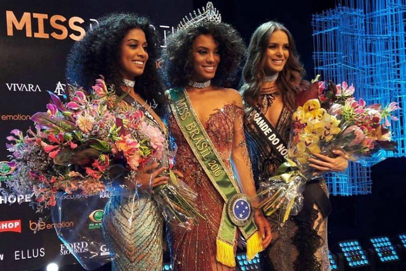Raissa Santana crowned Miss Brasil 2016